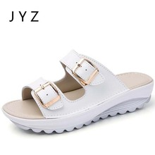 Fashion New Womens Slippers Sandals Summer Beach Shoes Sliders Lady Size 40 41 aa0972