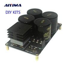 AIYIMA Placa de filtro rectificador eléctrico individual 50A, Kits de bricolaje, placa PCB, 10000uF/50V, gran corriente para amplificador 1969