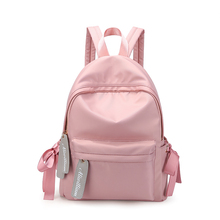 Women Ultralight Backpack For School Teenagers Girls Lady Stylish School Bag Ladies Cotton Fabric Backpack 2018 Female Backpack