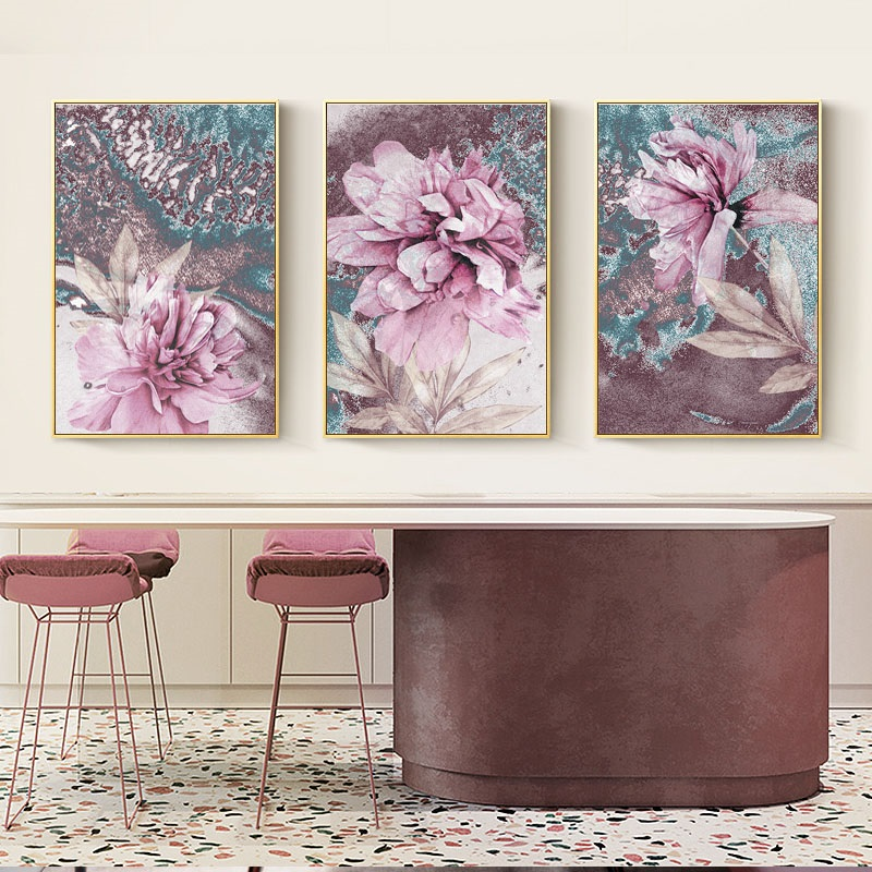 HTB1XV9FaOHrK1Rjy0Flq6AsaFXaY Abstract Painting Scandinavian Poster Nordic Decoration Home Wall Art Flowers Posters And Prints Decorative Pictures Unframed