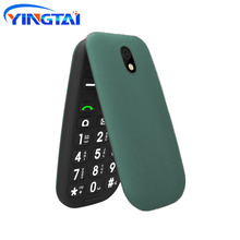 New 3G Flip Mobile Phone FM GPRS Button broadcast Push-Button MMS Feature Clamshell Cell phones 2.2 inch Same as Samsung C3520
