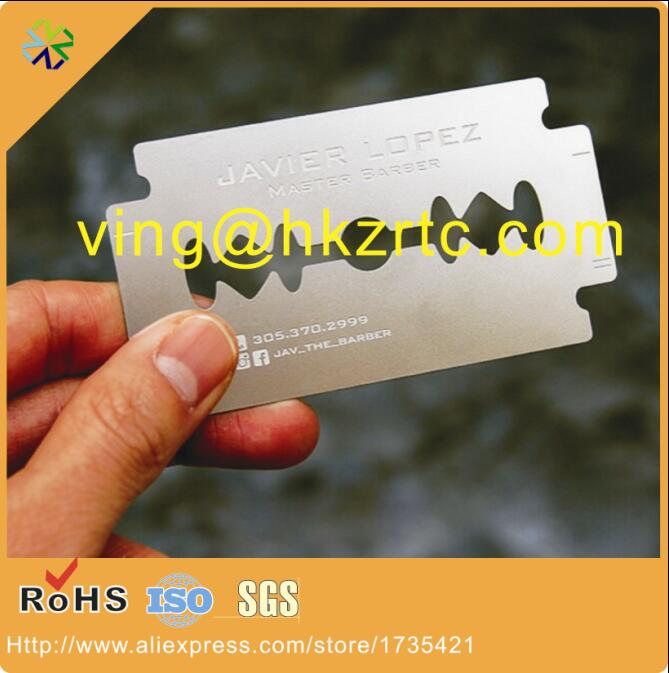 Concave metal visit card business card metal printing laser cut 31 reheart Choice Image
