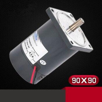 ZYTD-80SRZ-9F1 12V 24V 80mm DIA 90W Permanent Magnet Brush DC Motor Flange 1500RPM-5000RPM