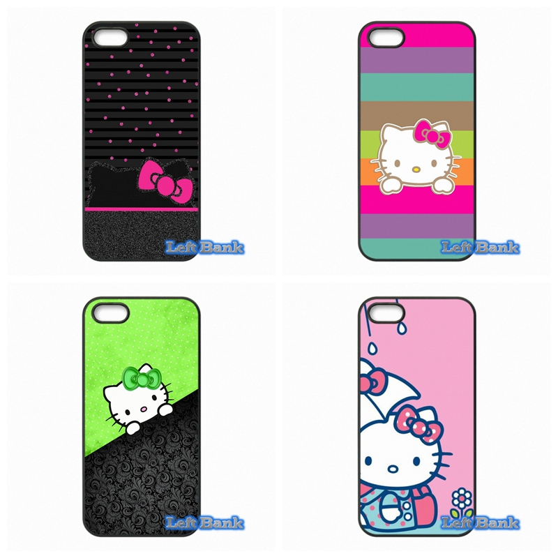 Hello Kitty Cat Phone Cases Cover For Huawei Honor 3C 4C 5C 6 Mate 8 7 Ascend P6 P7 P8 P9 Lite Plus 4X 5X G8