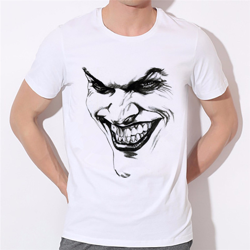 New the Joker 3d t shirt funny comics character joker with poker 3d t-shirt Comfortable clothing summer boys style 32-4#