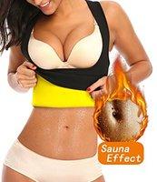 Women Sweat Slimming Vest For Workout Weight Loss Hot Neoprene Sauna Racerback Shirt Body Shaper Tank