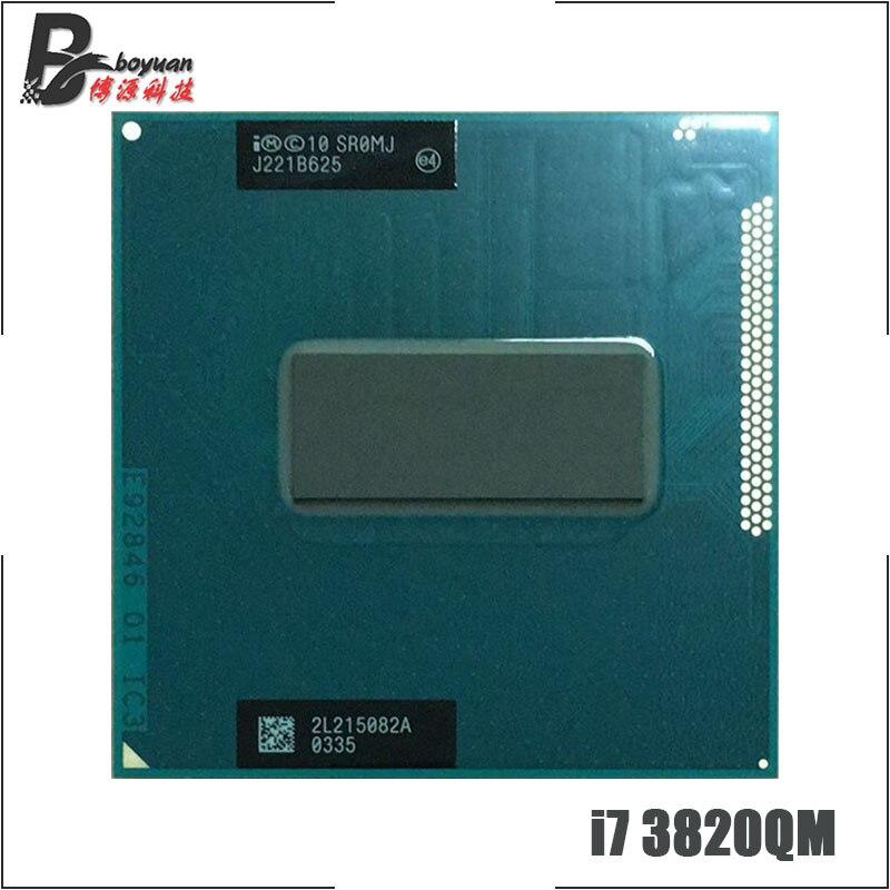 インテルコア i7 3820QM i7 3820QM SR0MJ 2.7 クアッドコア 8 スレッド Cpu プロセッサ 8 メートル 45 ワットソケット G2/rPGA988B  グループ上の パソコン & オフィス からの CPU の中 1