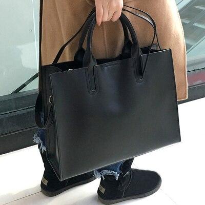 Sales Promotion!Casual Women Genuine Leather Bag Big Women Shoulder Bags Luxury Messenger Bags Handbag Female High Quality Tote