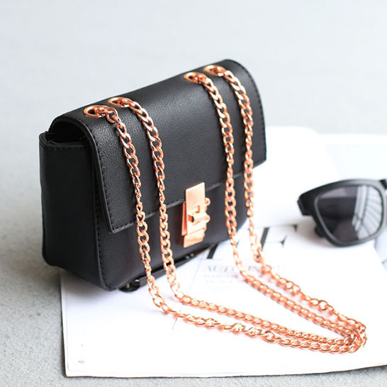 Aliexpress.com : Buy Mini Black Sling Bag Stylish Rocky Flap Cover ...
