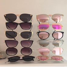 Plastic glasses Organizer Rack Glasses Display Sunglasses display stand 10 Pairs Glasess Holder Jewelry dispaly shelf A108-1