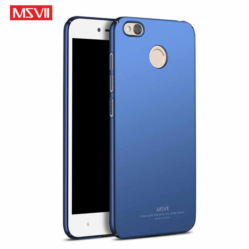 Msvii противоударный чехол для телефона крышка ПК на для ксиоми редми нот 5A Xiaomi Redmi Note 5A 5 Note5A Note-5A про Pro премьер 2/ 3/4 16/32/64 ГБ xiomi Coque