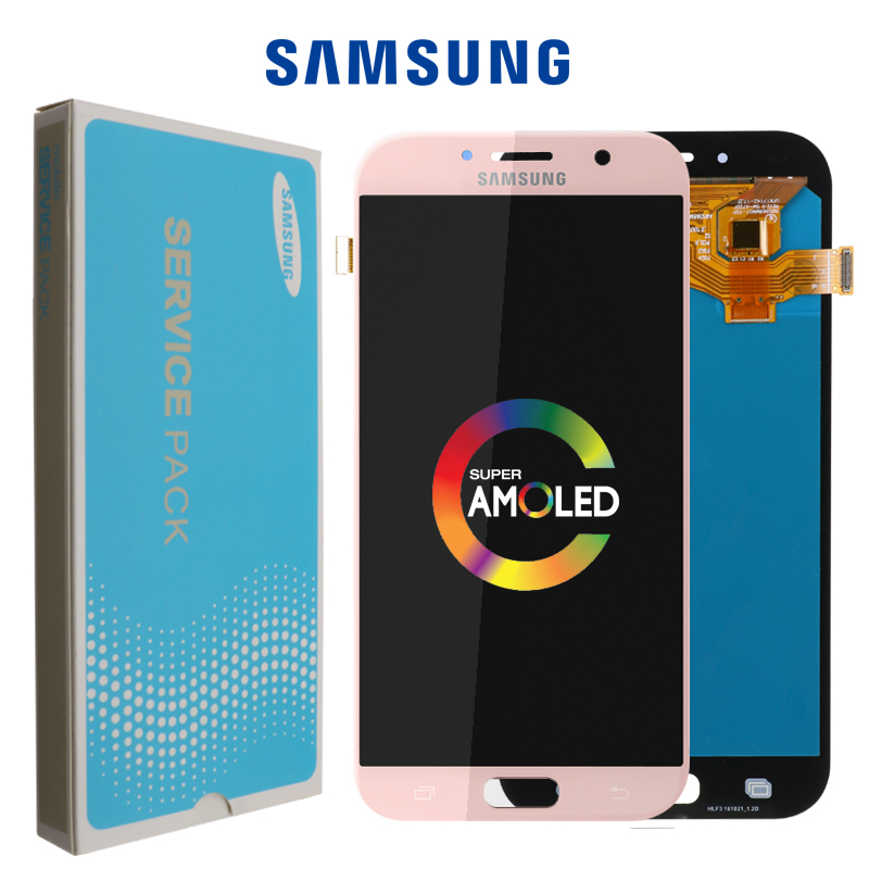 Original 5.7'' Display For Samsung Galaxy A7 2017 LCD A720M A720Y A720F A720 Touch Screen Digitizer Assembly Replacement Parts-in Mobile Phone LCD Screens from Cellphones & Telecommunications    1