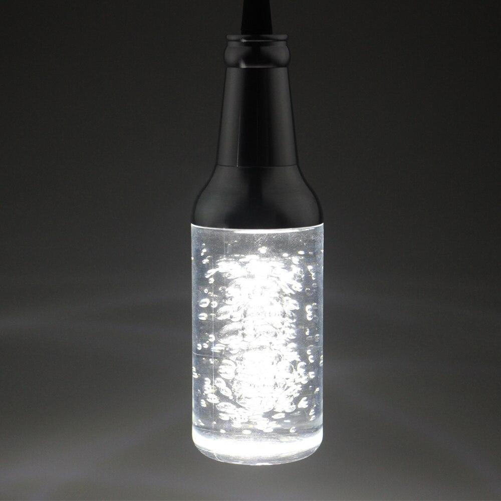 ФОТО AC85-265V Pendant Lights BAR Lamp Creative Personality 5W LED Celling Light For Restaurant Crystal Art Modern Bubble