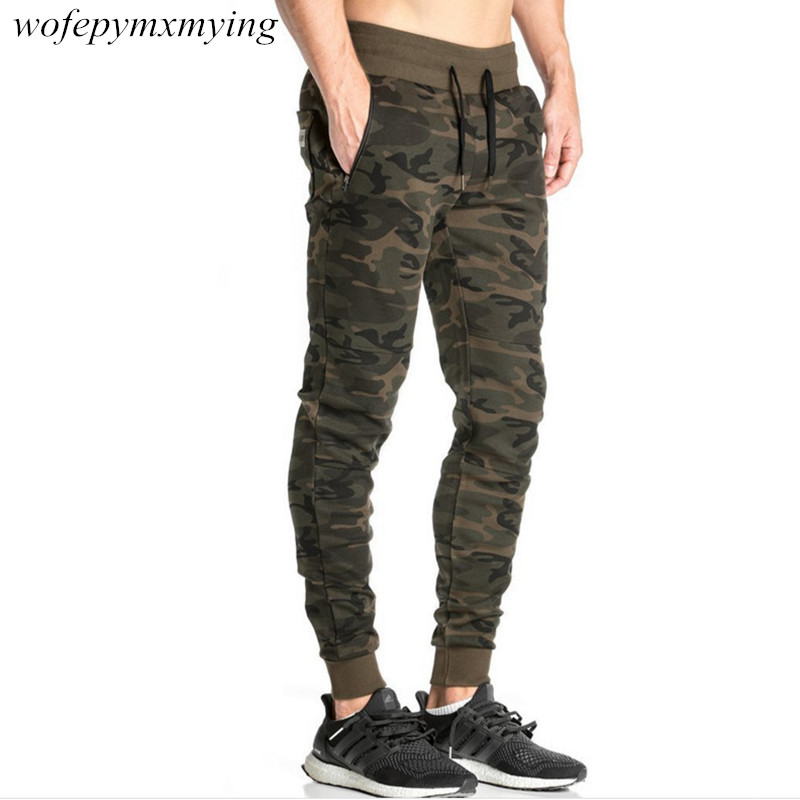 latest fashion style joggers sweatpants high quality china design camouflage mens sweat joggers with pockets fitness pants
