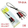 2 шт./компл. TP-01A k-тип см 100 см Длина провода температура тесты термопары сенсор цифровой зонд для температура контроллер - фото