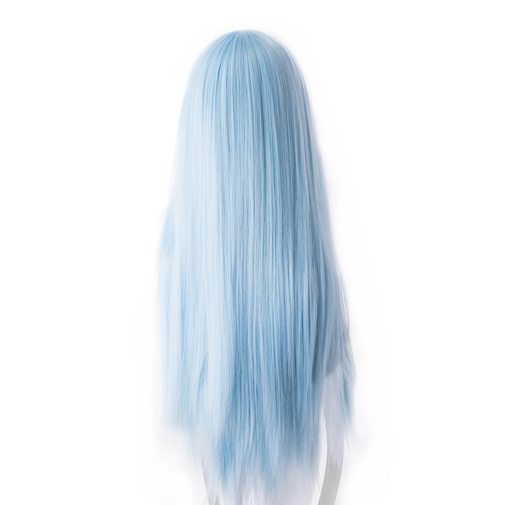 Costume Props Anime Wig That Time I Got Reincarnated As A Slime Cosplay Wig Rimuru Tempest Wig Blue Hair Role Play Party Cosplay Props Novelty & Special Use