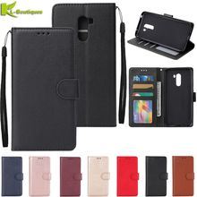 for xiaomi pocophone f1 Leather Case on for Xiaomi Pocophone