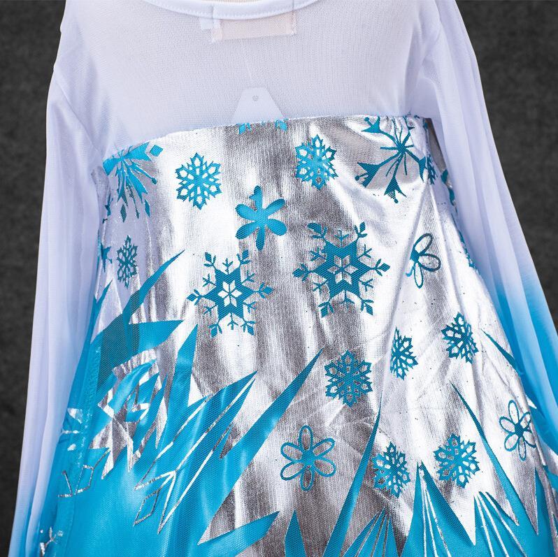 HTB1XVCAnCfD8KJjSszhq6zIJFXaM Queen Elsa Dresses Elsa Elza Costumes Princess Anna Dress for Girls Party Vestidos Fantasia Kids Girls Clothing Elsa Set