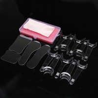 14 uds/set espejo Dental Intraoral Reflector fotografía con 10 Uds boca abridor labio mejilla Retractor clínica Dental Oral herramienta de cuidado