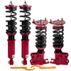 For Nissan 200SX 240SX S14 Silvia 94 98 Coilover Suspension Shock Absorber  Struts adjustable Damper Coil Spring