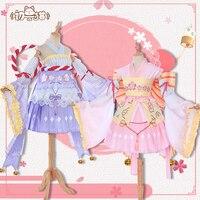 Аниме Card Captor Sakura Daidouji Томойо кимоно форма косплэй костюм Бесплатная доставка
