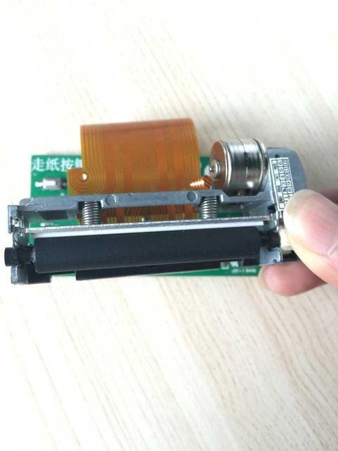 TTL интерфейс встроенный тепловой модуль печати Одного микрокомпьютера чип управления движением с бортовым 5-9 В DP-48F питания