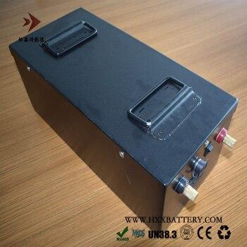 Hxx Lithium Dalam Siklus BMS 2000W 12V 180AH NMC Baterai LCD Acara untuk Memancing Perahu Kapal Mesin RV Penyimpanan Energi