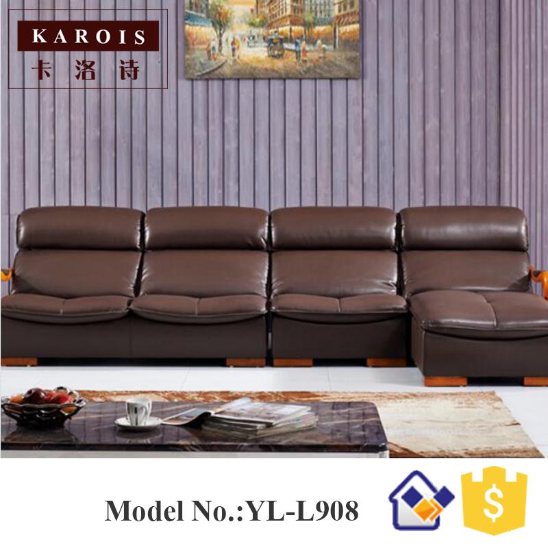 nuevo diseo de silla de masaje de color caf de cuero sof de cuero muebles para sentarse roomr