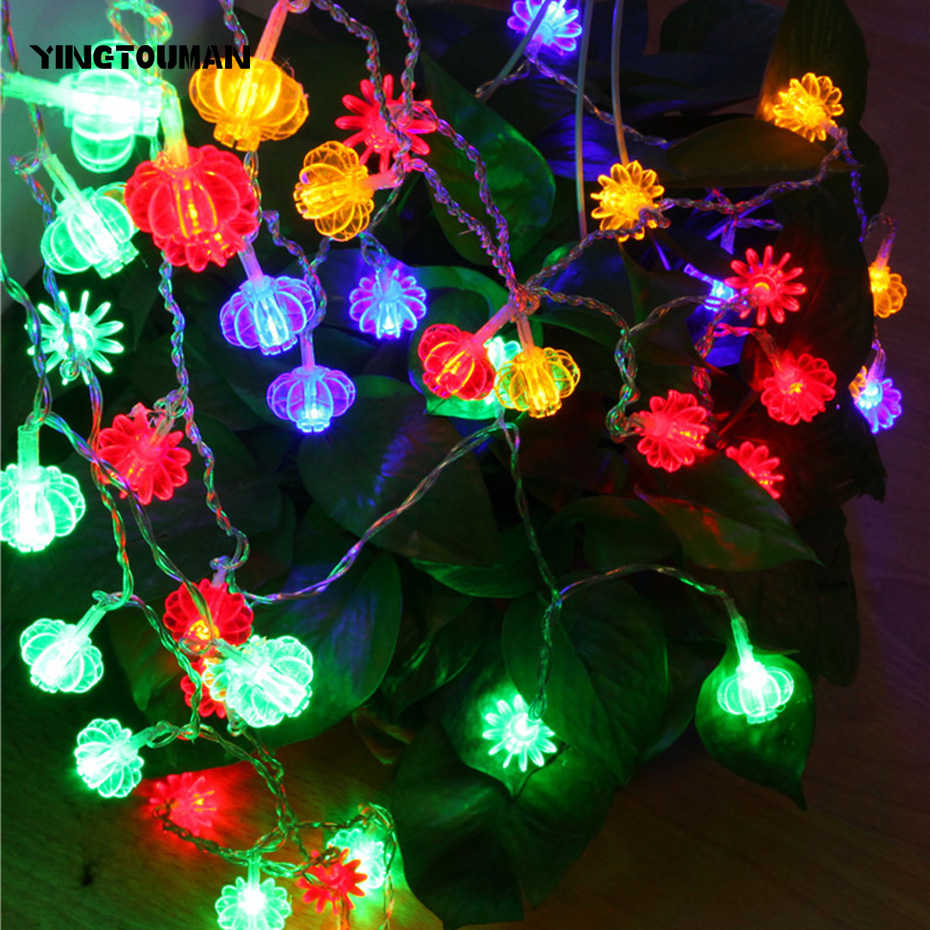 YINGTOUMAN HOT 30m 300LED Christmas Lights Party Outdoor Decoration Holiday Lantern String Lighting String Light Festoon lamp high quantiy 28 ball led 5m string light for christmas xmas holiday wedding party decoration fashion holiday light 8 mode work