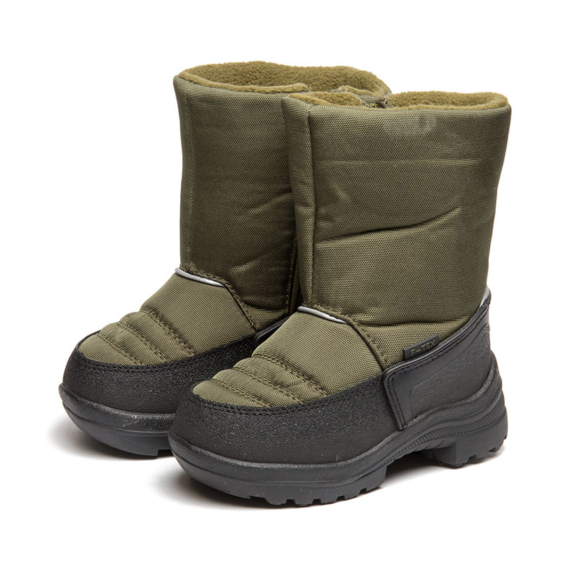 FLAMINGO Winter Anti-slip Waterproof Wool Warm High Quality Kids Shoes Orthotic Arch Size 23-28 Snow Boots for Girl 82M-QK-0946 women winter over the knee high boots ladies platform fringe snow boots waterproof down thick plush female shoes botas