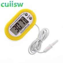 Mini termômetro digital de temperatura e umidade, medidor de temperatura e umidade tipo incubadora, com sensor de tortura para cachorro e animal de estimação
