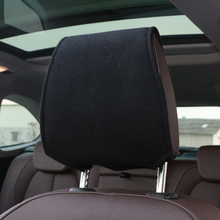 Hot car headrest cover with Phone Pocket Fit For renault opel Volkswagen Suzuki