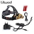 Led Headlight Rechargeable Headlamp Flashlight Head Torch Linterna Xml T6+2Q5 7000Lm choose 18650 Battery Fishing Light