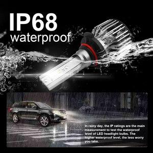 Image 4 - Roadsun Led H4 H7 سيارة مصباح أضاءه أمامي H1 H11 HB2 H8 9005 HB3 HB4 9006 مصباح ليد 12V 24V 8000LM 6000K Automotivo الدراجات النارية مصباح