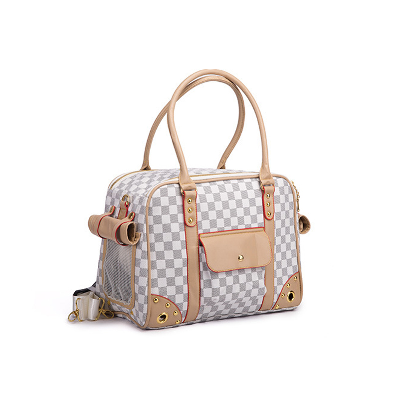 Fashion Luxury PU Leather Small Cat Dog Carrier Pet Bag Outdoor Travel Carri Tote Bag Portable Pet Dog HandbagFashion Luxury PU Leather Small Cat Dog Carrier Pet Bag Outdoor Travel Carri Tote Bag Portable Pet Dog Handbag