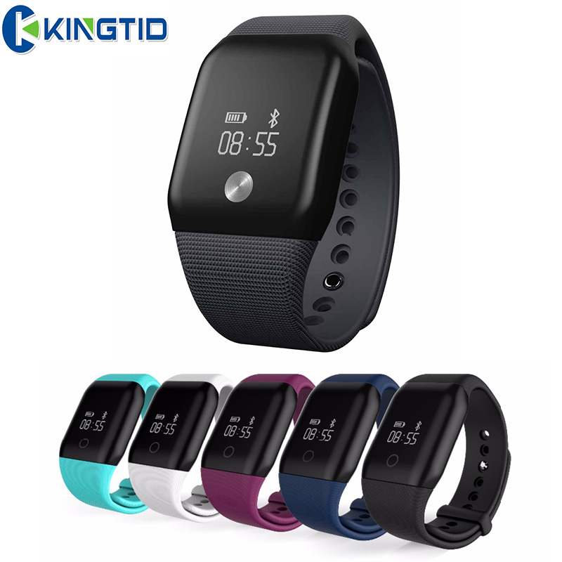 A88 Intelligent Sport Bracelet Bluetooth Smartband Heart Rate Monitor Blood oxygen OLED Pedometer Wristband For Android
