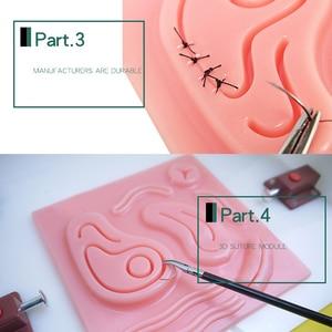 Image 3 - Laparoscopic Simulation Medical Practice Suture Module 3D Silicone Suture Pad Surgery Training Equipment Medical Teaching
