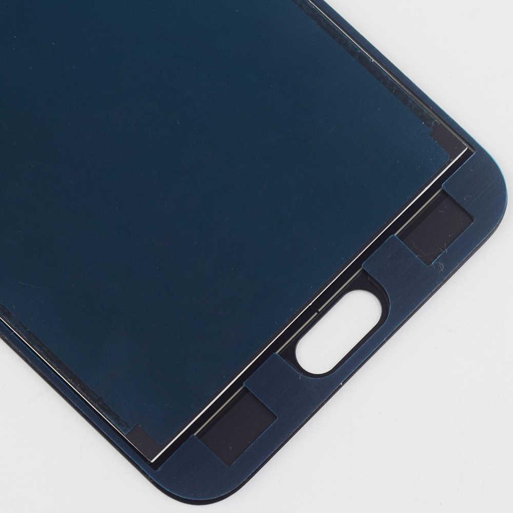 Ajustable para Samsung Galaxy J4 J400 SM-J400F J400H J400G/DS Sensor de pantalla táctil cristal + pantalla LCD monitor Panel de la Asamblea