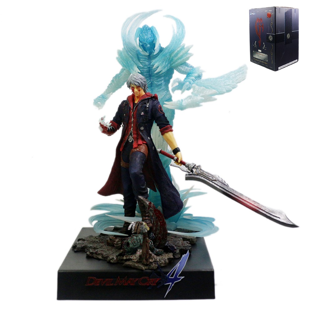 Devil May Cry 4 Nero Pre-Painted 1/10 Collectible Figure New in Box Free Shipping lucky chance in may men shandbags 8