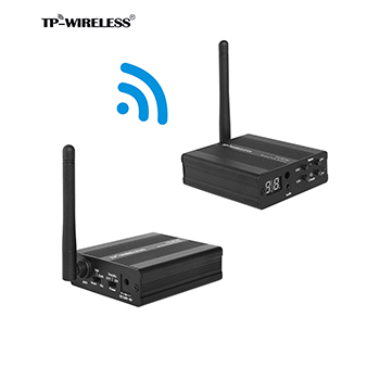 цена на TP-Wireless 2.4GHz Digital Wireless Transceiver Audio System 2.4GHz HDCD Audio Transmission Effective 1Transmitter NReceivers