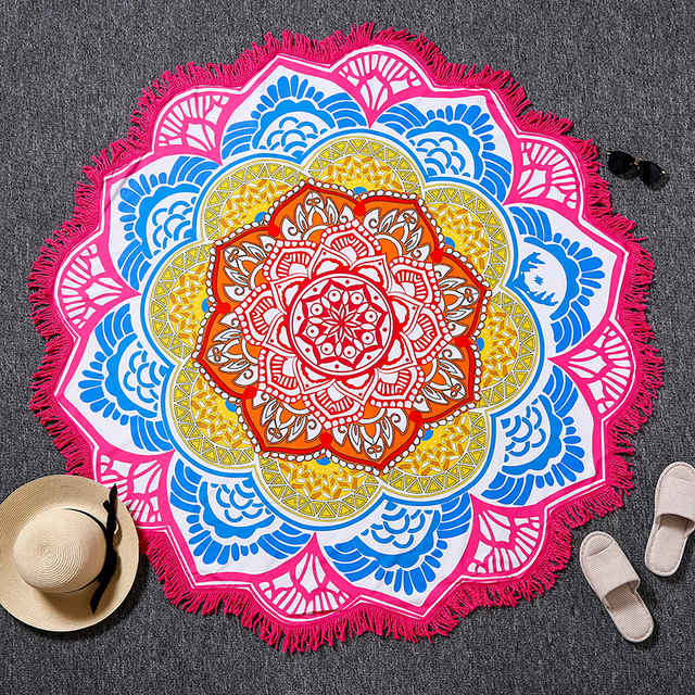 Indian Style Beach Towels/Yoga Mat Blanket/Camping Pad
