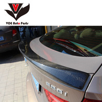 F07 AC style Carbon Fiber Car styling Rear Trunk Wing Spoiler for BMW 5 Series Gran turismo GT F07 2010 2017