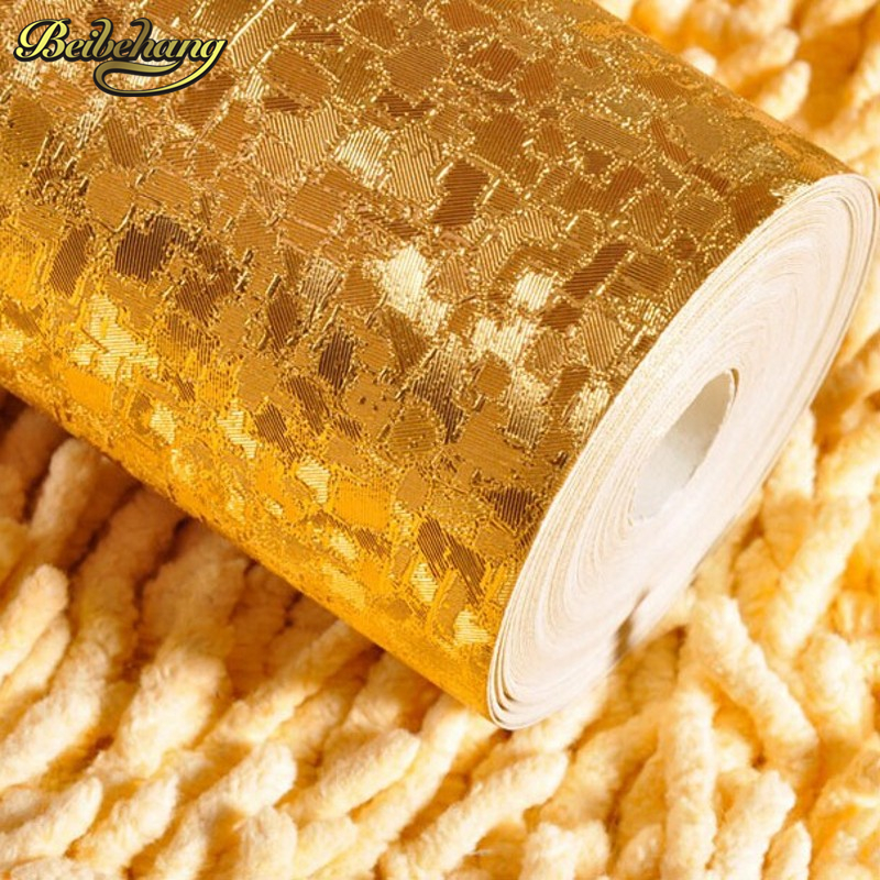 beibehang papel de parede 3d wallpaper rolls background Embossed Gold Foil Wall Paper Roll papel pintado wallpaper for walls 3 d snow background wall papel de parede restaurant clubs ktv bar wall paper roll new design texture special style house decoration