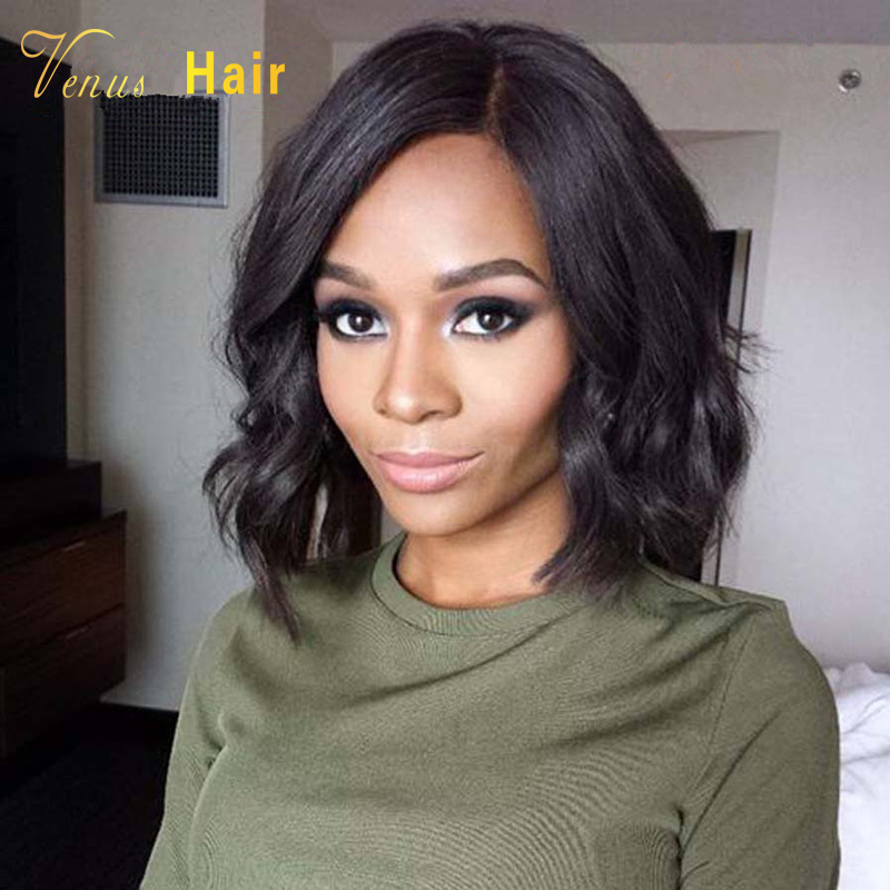 Human Hair Bob Wig 8a Brazilian Hair Glueless Full Lace Short Bob