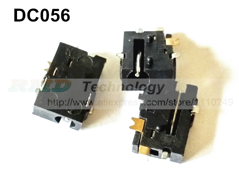 цены 10pcs/lot DC Power adapter 2.5*0.7mm DC jack connector DC-056 2.5 X 0.7 mm for tablet PC free shipping