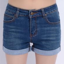 Летние женщины шорты причинно джинсы шорты прямые джинсовые шорты женские джинсы плюс размер 26-40 vintage короткие джинсы 3875