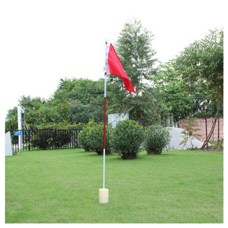 Backyard Practice Golf Hole Pole Cup Flag Stick Putting Green Flagstick