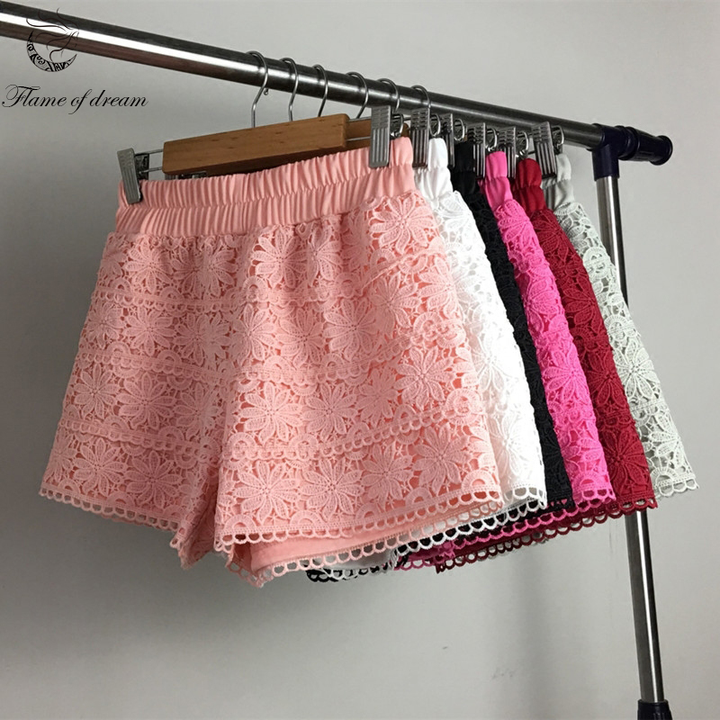 Shorts   for women S-2XL For 40-70kg lace design Womens   Shorts   plus size   Short   Feminino Pantalones Cortos Mujer Woman   Shorts