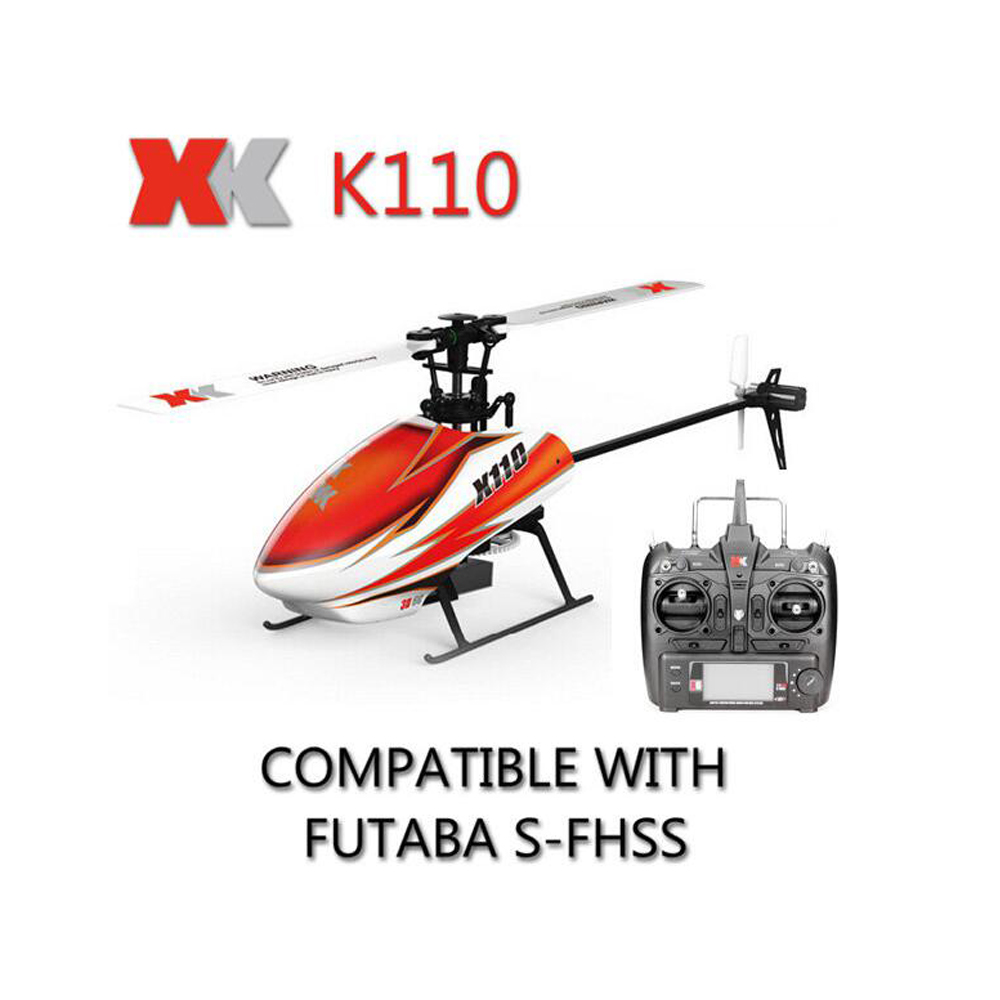 Big Sale Original Xk Blast K110 6ch 3d 6g System Brushless