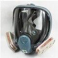 NEW SJL 6800 Gas Mask Full Face Facepiece Respirator 7 Piece Suit Painting Spraying